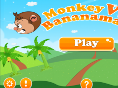 Monkey Vs. Bananaman 1.1 Screenshot