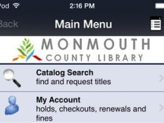Monmouth County Library 5.06 Screenshot