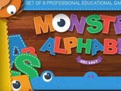 Monster Alphabet : English - Educational Game by ABC BABY 1.1 Screenshot