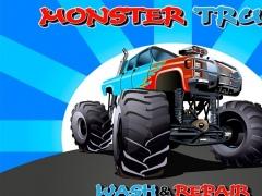 Monster Truck Wash And Repair 4.0.0 Screenshot