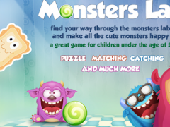 Monsters Puzzle Kids Games 2.0 Screenshot