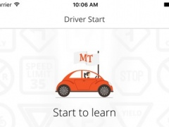 Montana Driver Start - practice for the Montana DMV knowledge test and Driver License Exam 1.1.6 Screenshot