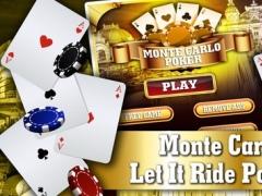 Monte Carlo Poker FREE - VIP High Rank 5 Card Casino Game 1.2 Screenshot