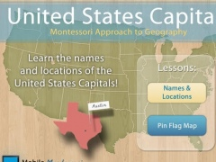 Montessori Approach To Geography HD - United States Capitals 1.2 Screenshot
