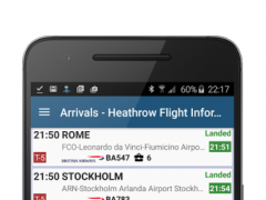 Montreal Airport Information 4.1.3.6 Screenshot