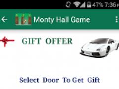 Monty Hall Algorithm 1.4 Screenshot