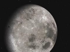 Moon 3D Space Tour 1.1 Screenshot