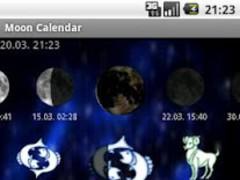 Moon Calendar - legacy 1.0 Screenshot