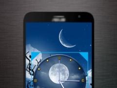 Moon Clock Live Wallpaper 1.1 Screenshot
