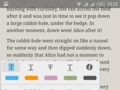 Review Screenshot - A Great Book Reader App for Avid Readers