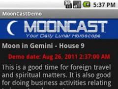 MoonCast Demo 1.0.4 Screenshot