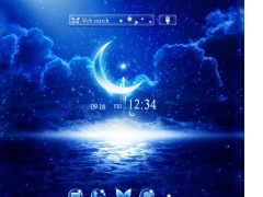 Moonlight Fantasy +HOME Theme 1.0.0 Screenshot