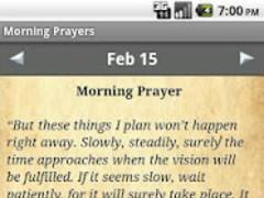 Morning Prayers Devotional 1.0.2 Screenshot