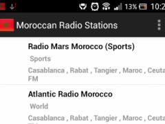 Moroccan Radio Stations 1.0 Screenshot