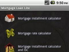 Mortgage Loan Lite 2.1 Screenshot