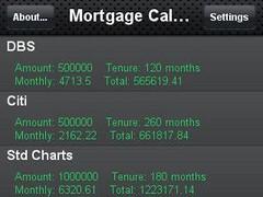 Mortgage Planner 1.0.1 Screenshot