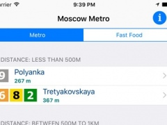 Moscow iMetro 3.00 Screenshot