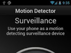 Motion Detector Pro 2.1.3 Screenshot
