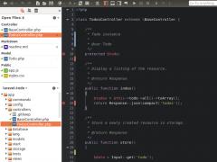Komodo IDE (Linux/x86 libstdc++6) 6.1.3 Screenshot