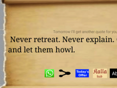 Motivational Quote Daily 2.1 Screenshot
