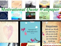Motivational Quote Wallpaper 1.0 Screenshot
