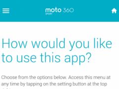 Moto 360 Sport 1.0.1 Screenshot