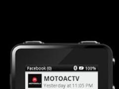 MOTOACTV plugin for Facebook. 1.0.53 Screenshot