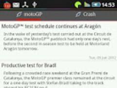 MotoGp News 0.0.12 Screenshot