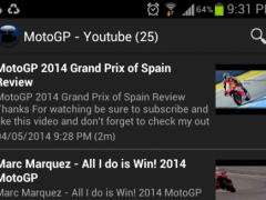 MotorGP Racing News 1.0 Screenshot