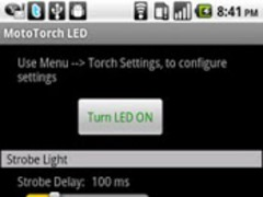 MotoTorch LED 3.6 Screenshot