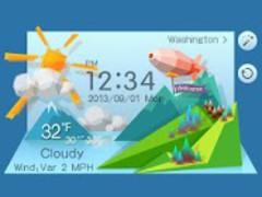 Mount Reward Theme GO Weather 1.2 Screenshot