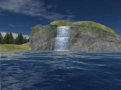 Mountain Lake Waterfall Screensaver 1.0.1.2 Screenshot