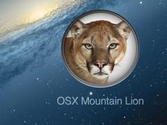 Mountain Lion OS X Update 10.8.31 Screenshot