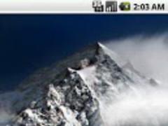 Mountain Live Wallpaper Pro 1.2 Screenshot