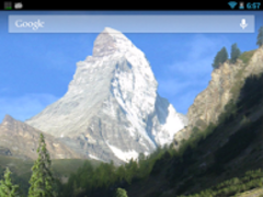 Mountains Live Wallpaper 2.0 Screenshot