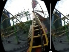 Mouse Spinning Roller Coaster - Virtual Reality VR 360 1.0 Screenshot