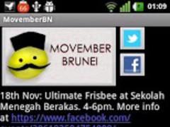 MovemberBN 1.0 Screenshot