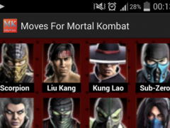 Moves for Mortal Kombat 1.0 Screenshot