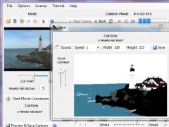 Movie Cartoonizer 1.0 Screenshot