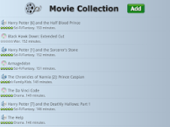 Movie Collection & Inventory  Screenshot