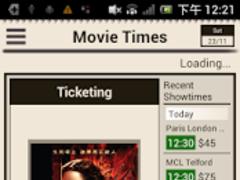 Movie Times 香港電影時報 2.4.5 Screenshot