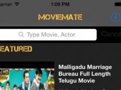 MovieMate Telugu : Movies News Trailers 1.0.1 Screenshot