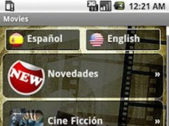 Movies and trailers 1.2 Screenshot