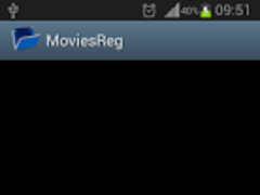 MoviesReg (Free) 1.2 Screenshot