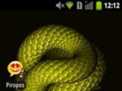 Moving Snake live wallpaper 1.0 Free