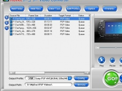 Movkit PSP Video Converter 4.6.5 Screenshot