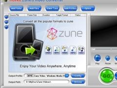 Movkit Zune Video Converter 3.0.5 Screenshot