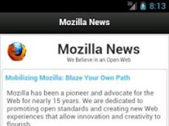 Mozilla News 2.3.7 Screenshot
