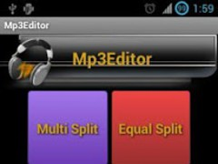 Mp3 Editor (ARM) 1.2 Screenshot