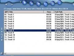 MP3 to CD Maker 1.5.0 Screenshot